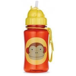 SKIP HOP Zoo Lahvička s brčkem Opička