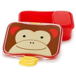 SKIP HOP Zoo Krabička na svačinu - 4-dílná Opička