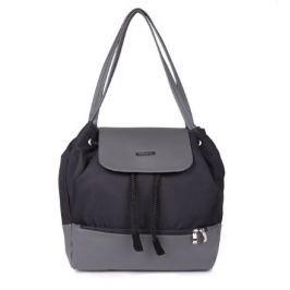 Taška přebalovací/batoh UPTOWN 2v1 černá