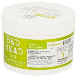 TIGI Bed Head Urban anti dotes Re-Energize Treatment Mask Maska pro normální vlasy 200 g