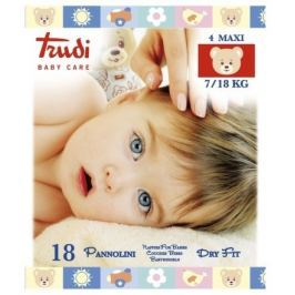 Trudi Dry Fit Dětské pleny Maxi 7-18kg 18ks