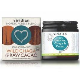 Organic Wild Chaga & Raw Cacao 30g