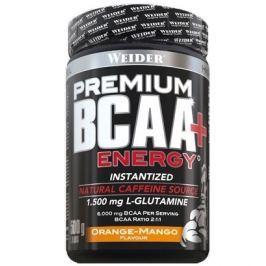 Weider Premium BCAA + Energy Instantized, 500 g, Pomeranč-mango