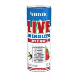 Weider Live Energized, Wild Berries, 330 ml