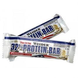 WEIDER, 32% Protein Bar, 60 g, Bílá čokoláda - malina