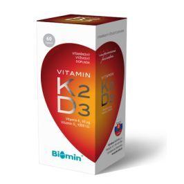 VITAMIN K2+VITAMIN D3 1000 I.U. 60tob. Biomin