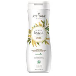 Přírodní šampón ATTITUDE Super leaves s detoxikačním účinkem  - rozjasňující pro normální a mastné vlasy 240 ml