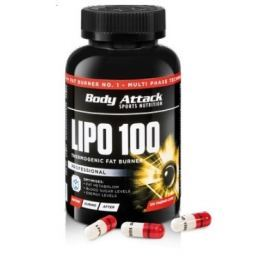 LIPO 100, 120 kapslí, Body Attack