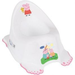 Dětský nočník protiskluzový Peppa Pig white-pink