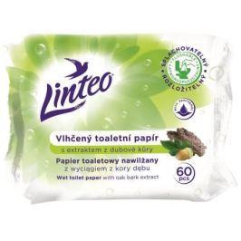 Vlhčený toaletní papír LINTEO s dubovou kůrou 60ks v sáčku