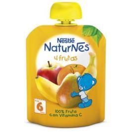 NESTLÉ kapsička ovocná Naturnes 4 Ovoce 90g CZ Ovocné dětské svačinky