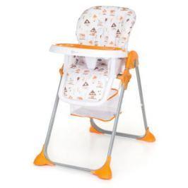 Jídelní židle Simply SHELL oranžová