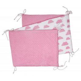 Skládací mantinel, white/pink clouds