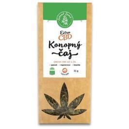 Zelená Země CBD Extra konopný čaj 3,3%, 35 g