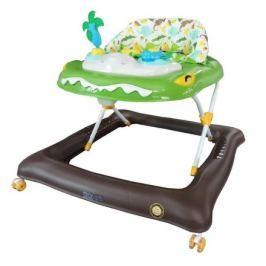 Dětské chodítko Baby Mix krokodýl zelené