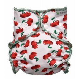 Kalhotková plena - přebalovací set patentky, cherries