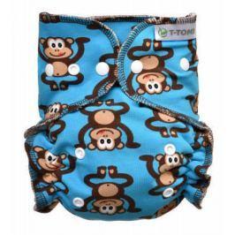 Kalhotková plena - přebalovací set patentky, monkies