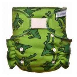 Kalhotková plena - přebalovací set suchý zip, crocodiles