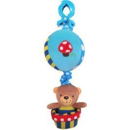 Dětská plyšová hračka se zvukem Baby Mix Medvídek modrý