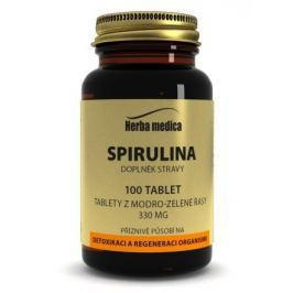 Herba medica Spirulina 330 mg, 60 kapslí