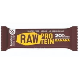 Bombus, tyčinka RAW Protein 20%, banana, 50 g