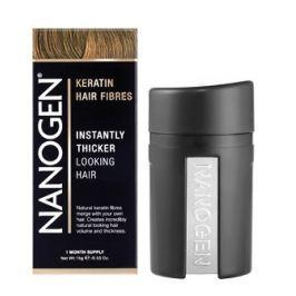 Nanogen keratinová vlákna zahušťovač vlasů 15g skořicová