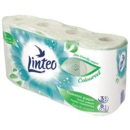 Toaletní papír LINTEO 8 rolí, zelený, 3-vrstvý, 20m