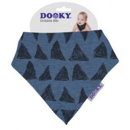 Dooky bryndáček Dribble Bib Blue Tribal