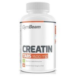 Kreatin TABS 1500 mg - 200tbl - GymBeam unflavored - 200 tab