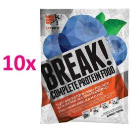 Break! Protein Food 10 x 90 g borůvka