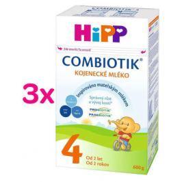 HiPP MLÉKO HiPP 4 Junior Combiotik 3x600g
