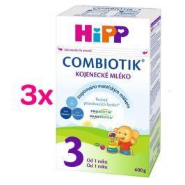 HiPP MLÉKO HiPP 3 JUNIOR Combiotik 3x600g