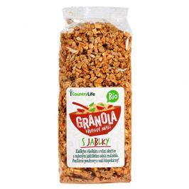 Country Life Granola - Křupavé müsli s jablky BIO 350g