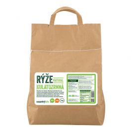 Country Life Rýže kulatozrnná natural BIO 5 kg