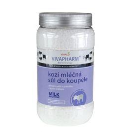 Vivapharm Sůl do koupele s kozím mlékem 1200 g