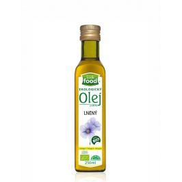 Look food s.r.o Olej lněný 100% 250 ml BIO