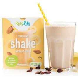KetoLife Proteinový shake - Banány a kakao 5 x 30 g
