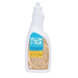 Tierra Verde Citronový gelový čistič na úklid koupelen (skvěle rozpouští vodní kámen) 750 ml