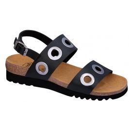 Scholl Zdravotní obuv - LARA SANDAL - Black 38