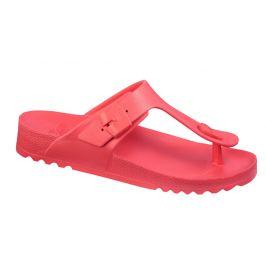 Scholl Zdravotní obuv - BAHIA FLIP-FLOP - Coral red 38