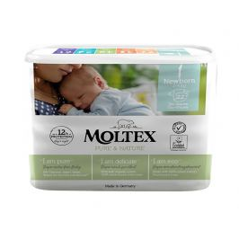 Moltex Pure & Nature Plenky Moltex Pure & Nature Newborn 2-4 kg (22 ks)