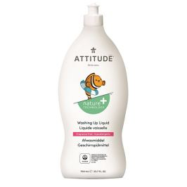 ATTITUDE Nature+ Prostředek na mytí nádobí ATTITUDE pro děti bez vůně 700 ml