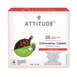 ATTITUDE Nature+ Tablety do myčky bez fosfátů ATTITUDE (26 dávek)