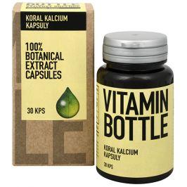 Vitamin Bottle Koral kalcium 30 kapslí