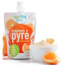 KetoLife Proteinové pyré - Pomerančové 100 g