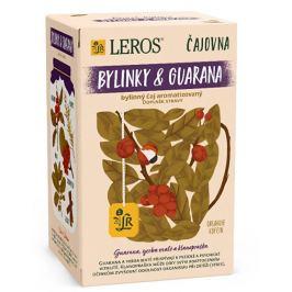 LEROS Čajovna Bylinky a Guarana 20 x 2 g