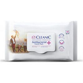 Cyndicate Antibakteriální ubrousky CLEANIC 40 ks