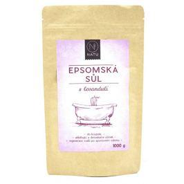 Natu Epsomská sůl s levandulí 1000 g