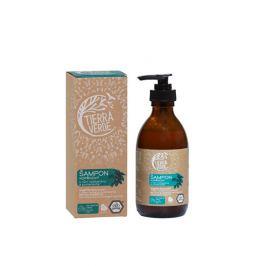 Tierra Verde Kopřivový šampon na mastné vlasy s vůní rozmarýnu a pomeranče 230 ml
