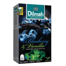 Dilmah Čaj černý, Borůvka, Vanilka 20 ks